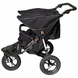 DOUBLE BUGGY NIPPER 360 (from birth-4years)