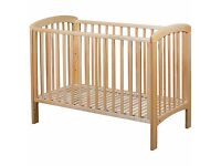 JLewis Anna Cot, Mama and Papa Safety Gate and Anti Allergen Duvet Set