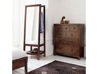 """John Lewis """"Kerala"""" range mirror with storage"""