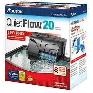 AQUARIUM POWERFILTER - AQUEON 20 30 & 50 QUIET FLOW  FILTER
