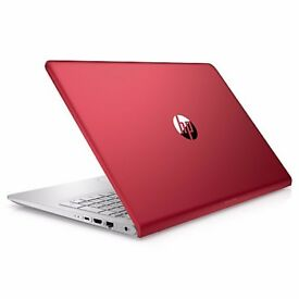 """Brand New HP Pavilion 15.6"""" - Red - with 2 year guarantee - i3, 8GB RAM, 1TB"""