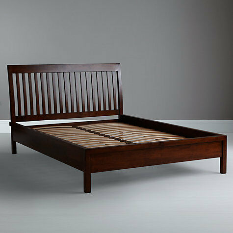 John Lewis Willis Gambier Kerala Bed Frame And Mattress Rich Cherry King Size