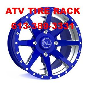 NO LIMIT Octane rims wheels ANY CUSTOM COLORS - ATV TIRE RACK