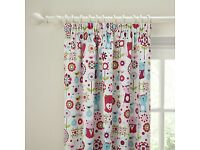 John Lewis kids blackout curtains with matching single duvet cover and pillow case