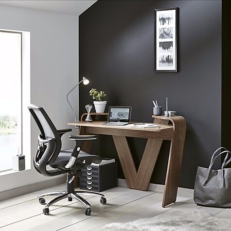 JOHN LEWIS Murray Ergonomic Office Chair (Black) Excellent condition x 2 Chairs & JOHN LEWIS Murray Ergonomic Office Chair (Black) Excellent condition ...