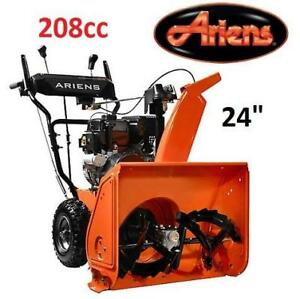 "NEW ARIENS 24"" GAS SNOW BLOWER 920025 213691150 2-STAGE ELECTRIC START SNOWBLOWER"