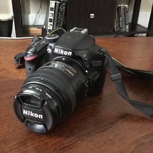Nikon D3200 w Nikkor 40mm lens (not kit lens) &polarizing filter