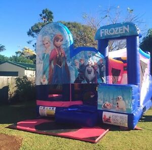 Frozen 5 in 1 combo Jumping Castle $250 Full Day Hire Brisbane South East Preview
