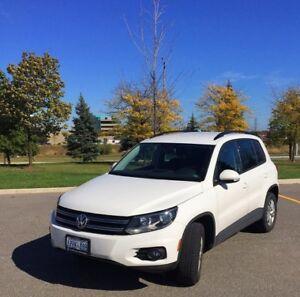 2014 Volkswagen Tiguan SUV - under worronty