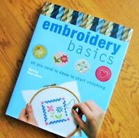 """"""" EMBROIDERY BASICS"""" All you need to know to Start Stitching"""