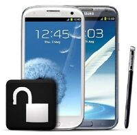 Unlock iphone,Samsung,Blackberry...deverrouiller cellulaires