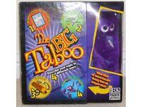 THE BIG TABOO BOARD GAME