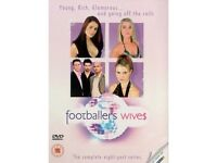 FOOTBALLERS WIVES SERIES 1 & 2 DVDS - BARGAIN ONLY £5