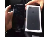 BRAND NEW APPLE IPHONE 7 32GB,MATT BLACK,UNLOCKED VODAFONE LEBARA ASDA,BOXED AS NEW