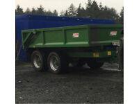 Jpm 16 ton multiple purposes Dump-trailer