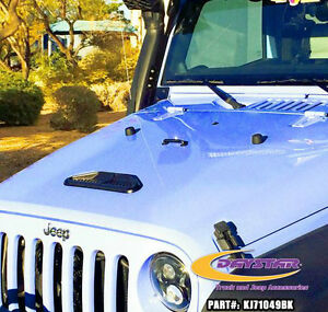 Center Hood Vent Jeep Wrangler JK 2007-17
