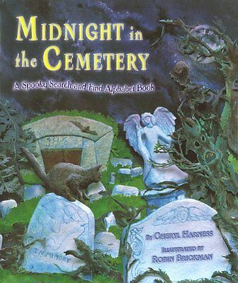 Midnight In The Cemetery  A Spooky Search And Find