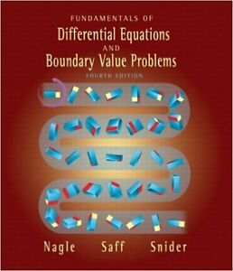 Fundamentals of Differential Equations & Boundary Value Problems