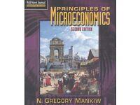 Principles of Economics 2nd Edition by Mankiw - HARDBACK- £12 ONO Plus £2.60 P&P