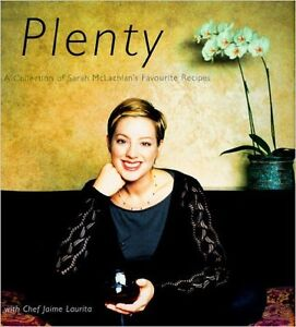 Sarah McLachlan Cookbook - Plenty