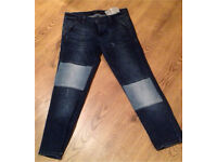 Designer jeans size 14 leara woman relaxed fit
