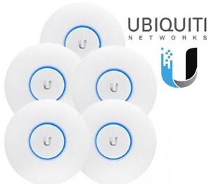NEW UBIQUITI 5PC WIFI ACCESS POINTS UAP-AC-Pro-5-US 196629420 COMPUTER PC  Networking Products Wireless Access Points