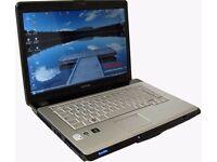 "Toshiba Satellite A200 Laptop / 15.4"" / Intel / Win 7"