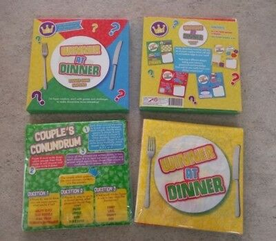 Meal Tea Dinner Fun Game Quiz Table Napkins Serviettes Christmas Birthday Party