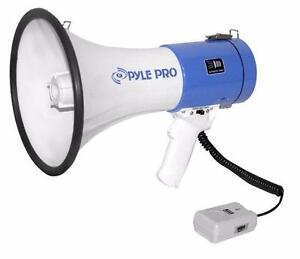 PylePro (PMP50) Professional Piezo Dynamic Megaphone ( We ship Coast to Coast )