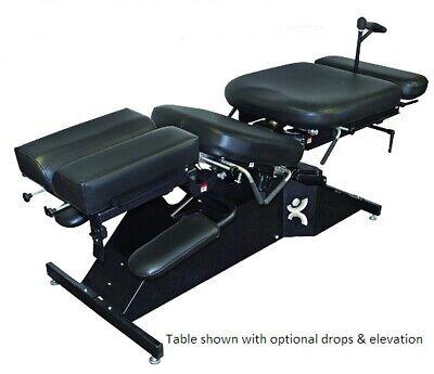 Chiropractic Manual Flexion Stationary Table W Pelvic Drop Breakaway