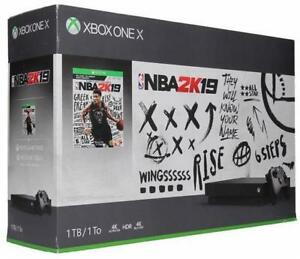 Xbox One X Availbale in NBA 2k19 and Fallout 76 ; 1 TB; Brand New Sealed, Storedeal_2982074