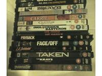DVDs U, PG, 12, 15 & 18