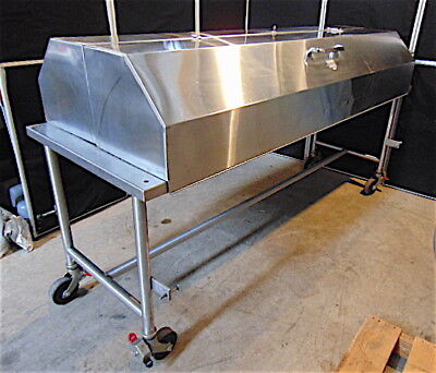 Lipshaw Cadaver Autopsy Table Morgue Table With Key 87 Long X 31 Wide - S3494