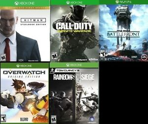 XBOX One FPS Games (Various Prices)