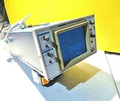 Estate Vintage Leader Lbo-51m Display Oscilloscope