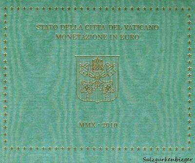 Vatikan 2010 Pontifikat von Benedikt XVI. im Folder