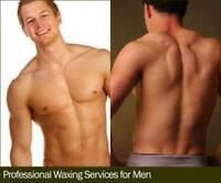 MEN- WAXING & MASSAGE THERAPY