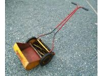 OLD SUFFOLK PUSH CYLINDER LAWN MOWER