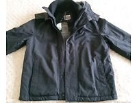 Men's Fatface Teflon Jacket in Navy