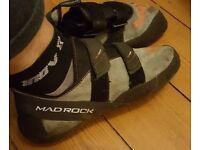 Mad Rock science friction climbing shoes size 12