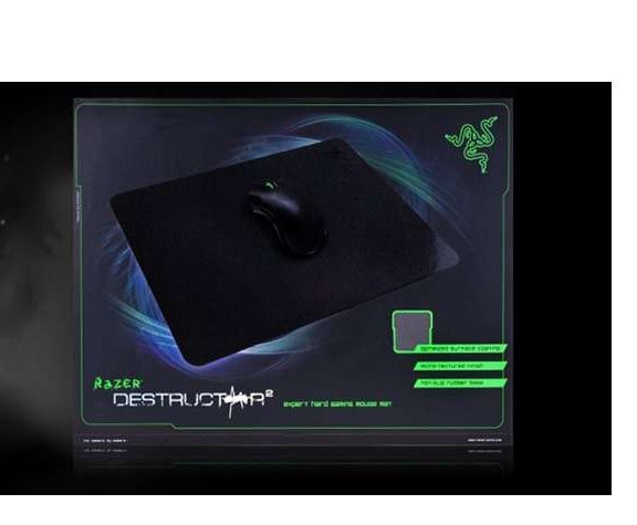 Razer Destructor 2 Expert Hard Gaming Mouse Mat Maximum Precision and Feel