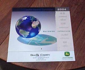 2004 John Deere Calendar