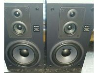 Sony speakers 60w used condition! Can deliver!
