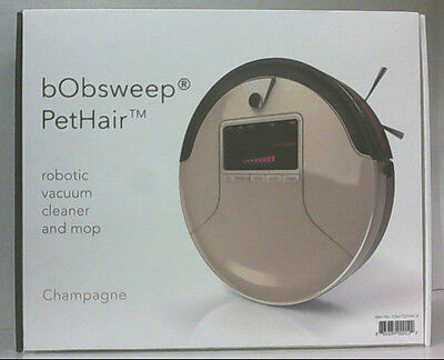 bObsweep Pet Hair Robotic Vacuum Cleaner And Mop Champagne $350