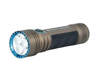 Olight Desert Tan Seeker 2 Pro 3200 Lumens Rechargeable LED Flashlight w/ L-Dock