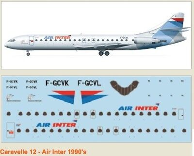 F-rsin 1/144 Caravelle 12 Air Inter 90''s 4071