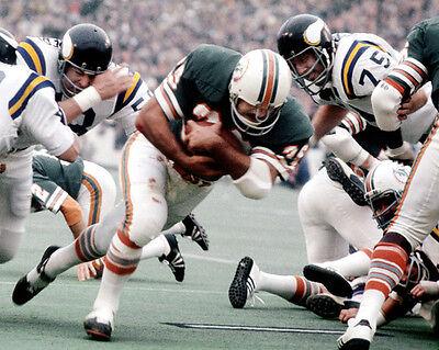 1974 Miami Dolphins Larry Csonka Super Bowl Viii Mvp Glossy 8X10 Photo Print