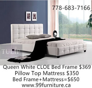 ★DIRECT!100%BRAND NEW NICE LEATHER BED!FACTORY DEAL!