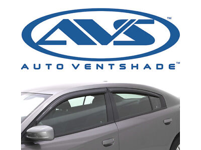 AVS 194313 In Channel Window Deflector Ventvisor 4-Piece 2011-2020 Dodge Charger