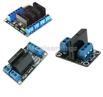 124 Channel 5v Omron Ssr G3mb-202p Solid State Relay Module For Arduino